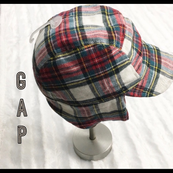 5cb279f055cc6 Baby Gap plaid trapper hat 12 to 18 months winter